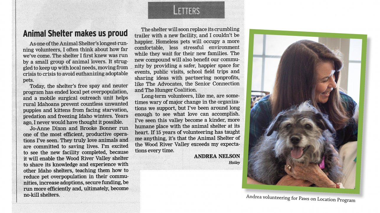 Special letter to the editor mountain humane special letter to the editor altavistaventures Gallery