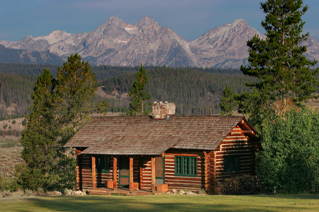 Pleasing Idaho Rocky Mountain Ranch Mountain Humane Download Free Architecture Designs Grimeyleaguecom
